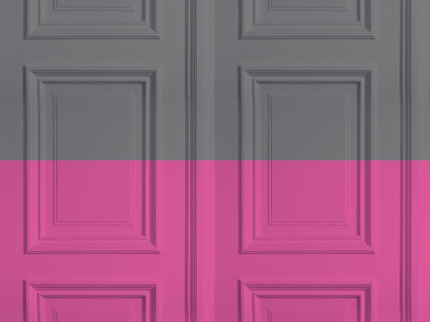 Carta da parati a motivi GREY-ROSE PANELLING by Mineheart