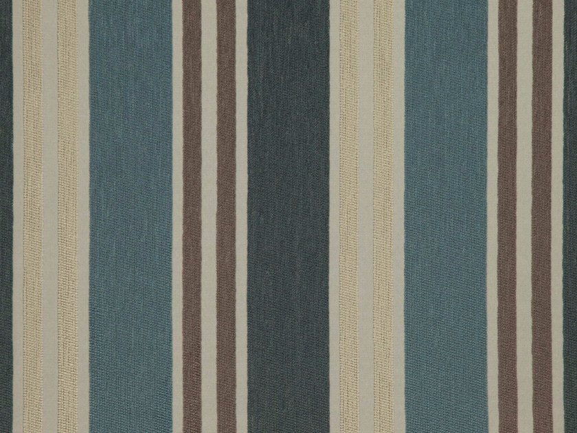 Striped chenille fabric GRIFLET by FR-One