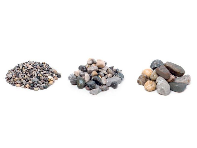 Decorative pebbles GHEDI GREY by Bernardelli Group