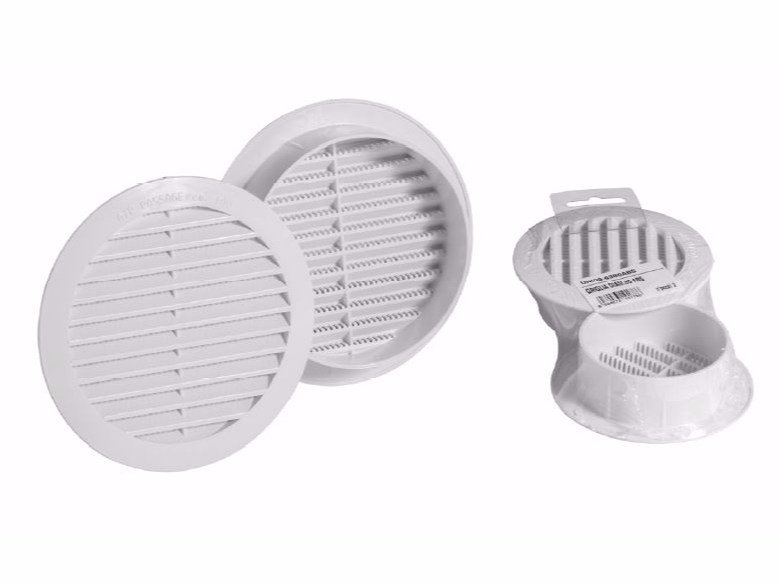 Round ABS air vent FIXED ROUND GRILL by Dakota