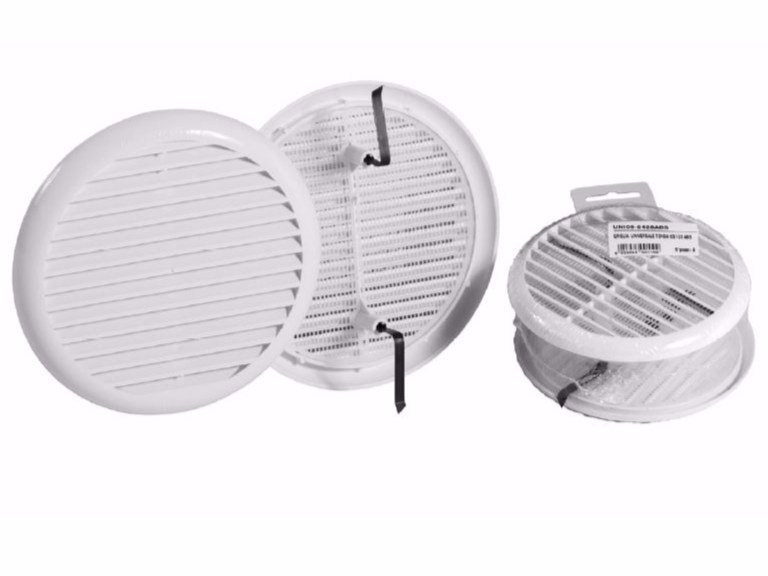 Round ABS air vent UNIVERSAL GRILL by Dakota