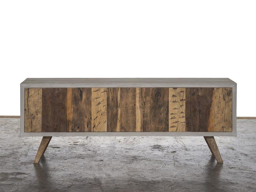 Reclaimed wood sideboard GRISEO   Sideboard by A&B Rosa dei Legni