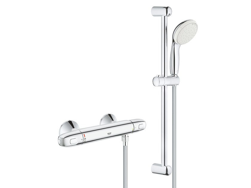 GROHTHERM 1000 NEW 34151004 | Thermostatic shower mixer Grohtherm ...