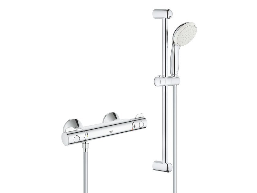 External thermostatic shower mixer GROHTHERM 800 34565001 | Thermostatic shower mixer by Grohe
