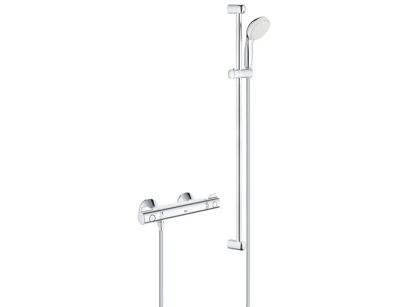 External thermostatic shower mixer GROHTHERM 800 34566001 | Thermostatic shower mixer by Grohe