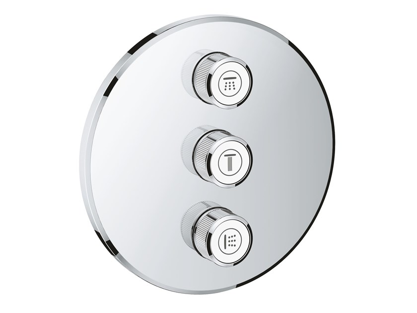 Shower tap with plate GROHTHERM SMARTCONTROL 29122000 | Shower tap by Grohe