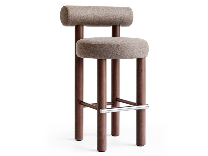 High barstool with back GROPIUS CS2 BAR CHAIR by NOOM