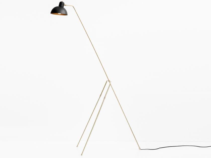 LED direct light floor lamp GRUE by Lambert & Fils