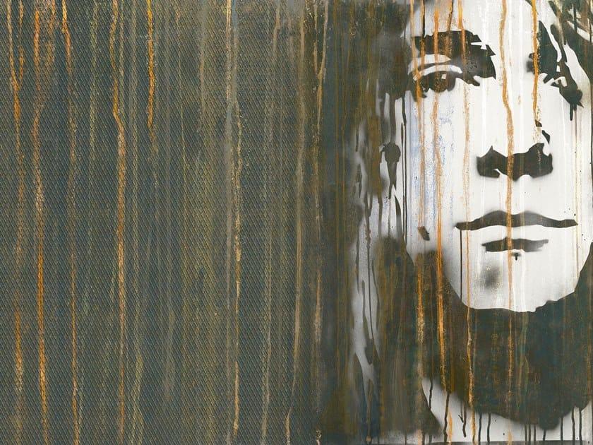 Rubber fire retardant Digital printing wallpaper GRUNGE by Tecnografica Italian Wallcoverings