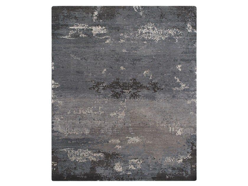 Tappeto fatto a mano su misura GRUNGE TWO SLATE by Thibault Van Renne