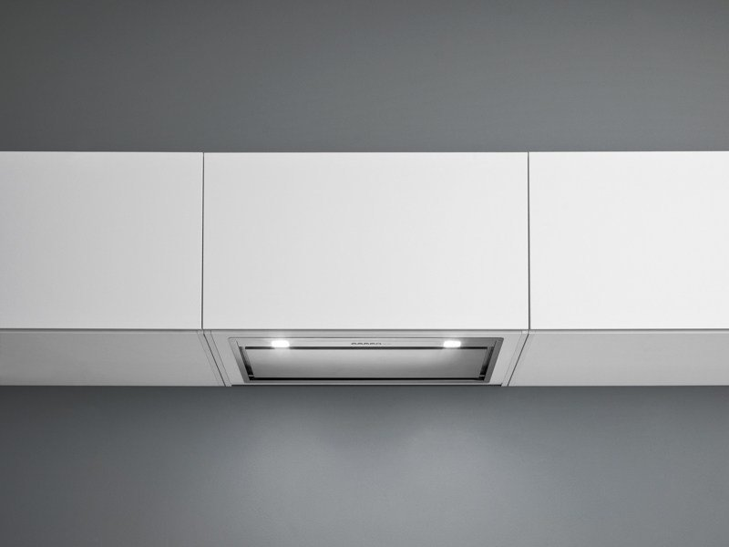 Wall-mounted stainless steel cooker hood GRUPPO INCASSO by Falmec