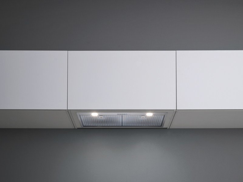 Wall-mounted stainless steel cooker hood with activated carbon filters GRUPPO INCASSO NRS by Falmec