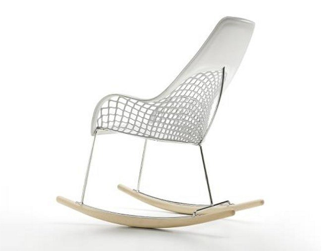 Rocking easy chair GUAPA DNA | Rocking easy chair by Midj