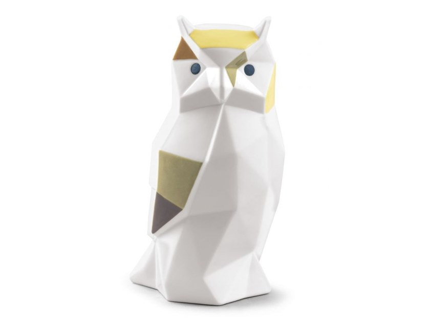 Porcelain decorative object OWL by Lladró
