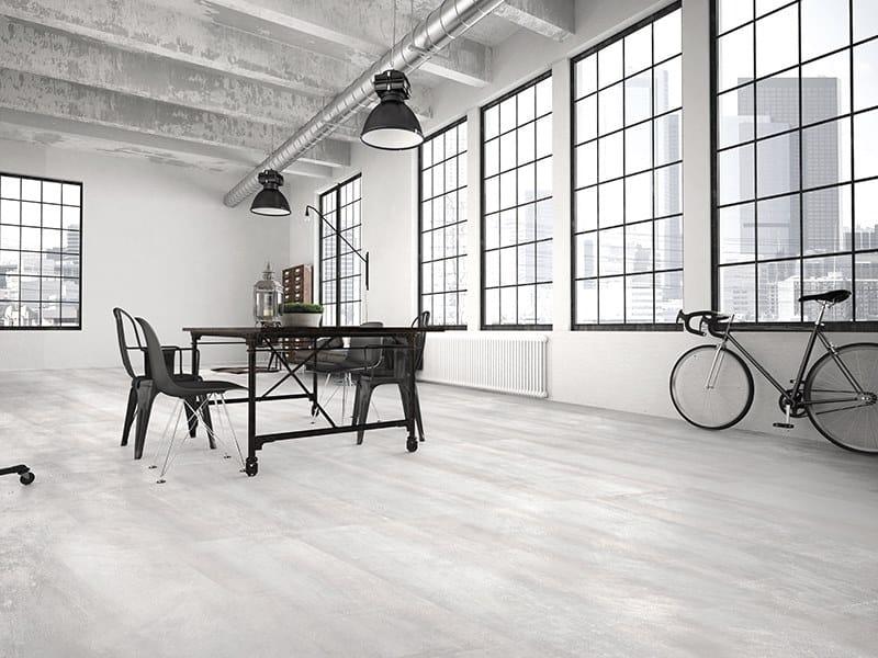 Porcelain wall/floor tiles with metal effect GUGGENHEIM by ITT Ceramic