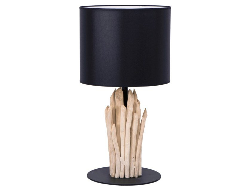 Wooden table lamp GUMI by Flam & Luce