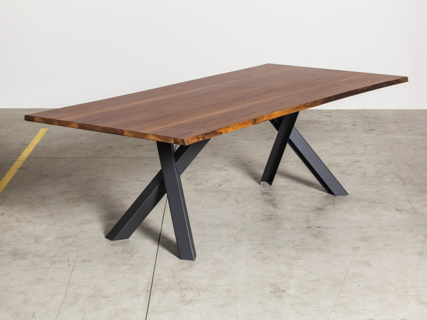 Rectangular walnut table GUSTAVE | Walnut table by Miniforms