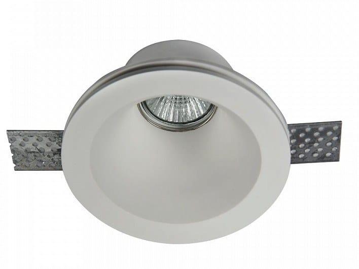 Recessed plaster spotlight GYPS MODERN | Round spotlight by MAYTONI