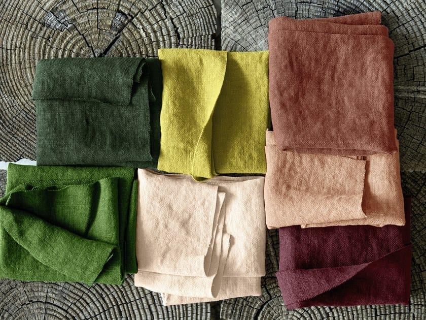 Tessuto a tinta unita lavabile in lino GYPSIES II by Élitis