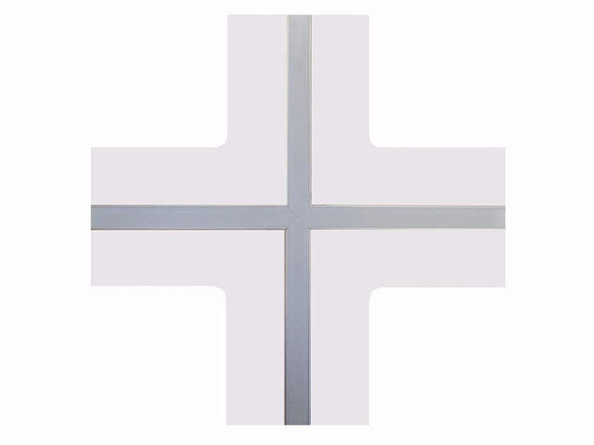 Frame and accessory for suspended ceiling GypsoCOMETE Star by FASSA