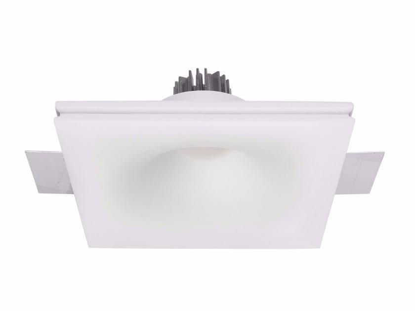 Faretto a LED in gesso a soffitto da incasso GYPSUM_EYE1 by Linea Light Group