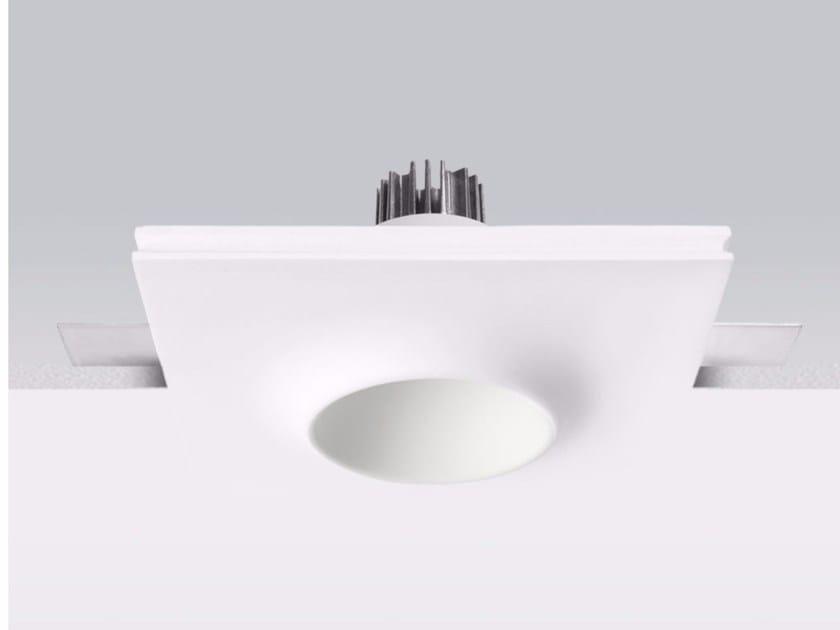 Lampada da soffitto a LED in gesso a incasso GYPSUM_O3 by Linea Light Group