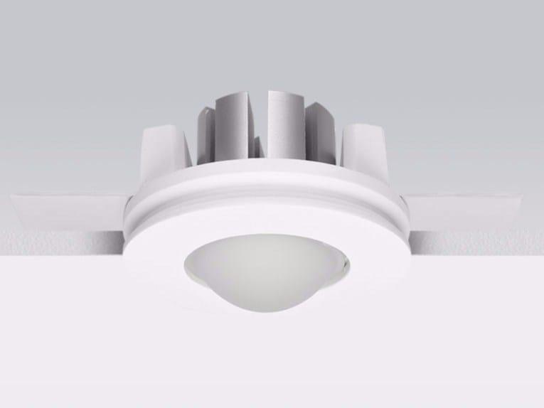 Faretto a LED in gesso a soffitto da incasso GYPSUM_R1 by Linea Light Group