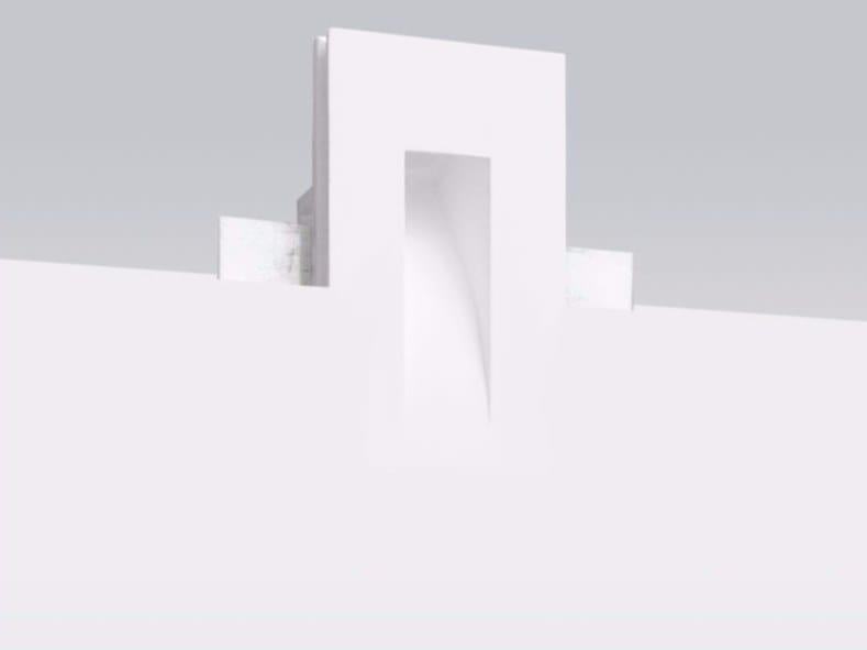 Segnapasso a LED a parete in gesso GYPSUM_WF3 by Linea Light Group