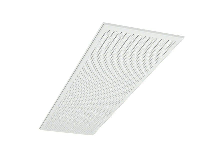 Acoustic ceiling panels GYPTONE® QUATTRO 75 ACTIV'AIR® by Saint-Gobain Gyproc