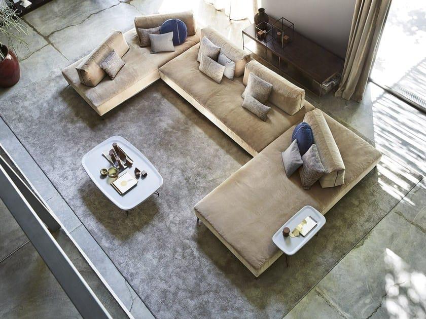 Sectional fabric sofa SANDERS AIR by Ditre Italia