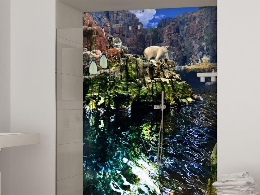 Papier Peint Lavable Trompe L Oeil Paysage H2o Collection Wallpaper