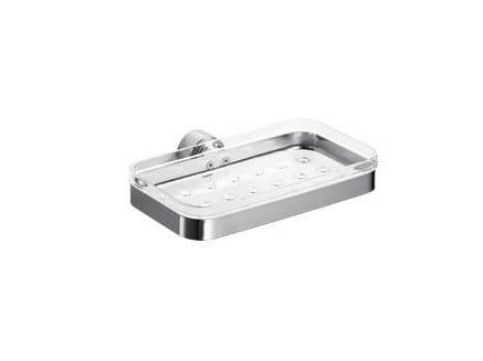 Wall-mounted PMMA soap dish H2O | PMMA soap dish by INDA®