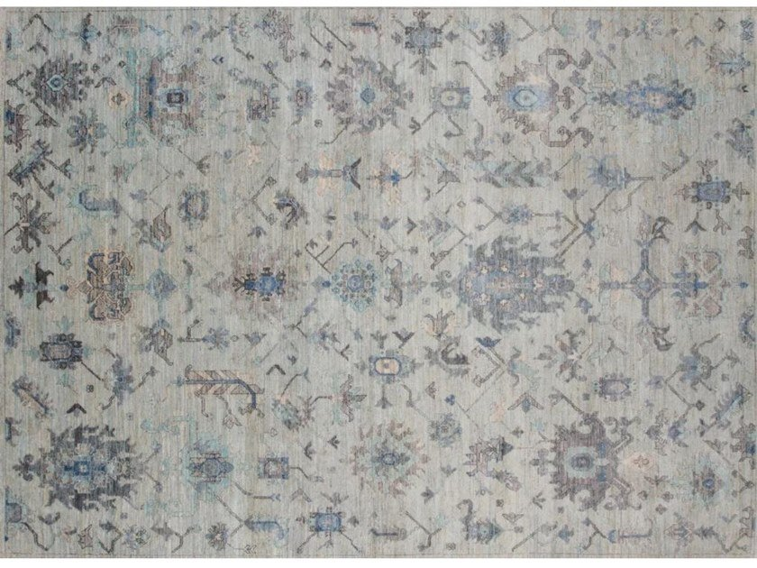 Patterned handmade rug H961 | Rug by Mohebban