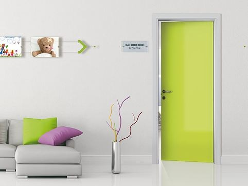 Hinged lacquered door HABITAT HB/PV-00 by ROYAL PAT