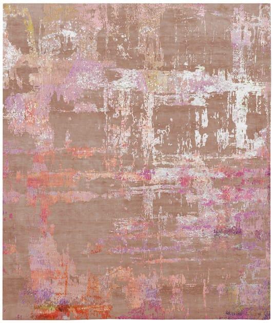 Handmade rectangular rug HAGLOSA by HENZEL STUDIO