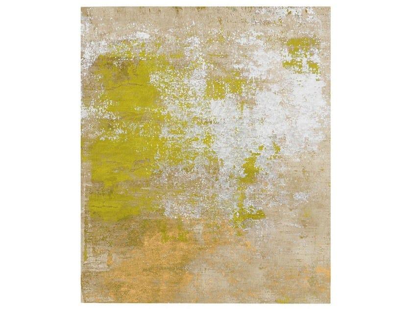 Handmade rug HAGREDA DIAMOND DUST by HENZEL STUDIO