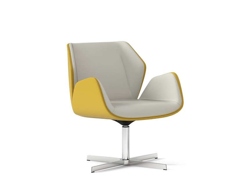 Swivel executive chair with 4-spoke base HAIKU | Swivel executive chair by Arte & D