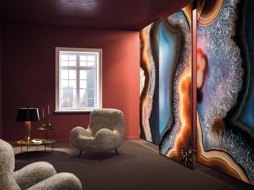 Decorative panel HAITI by Tecnografica Italian Wallcoverings