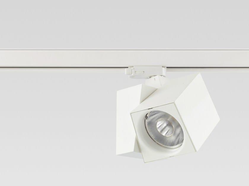 LED die cast aluminium Track-Light HAKO by Reggiani