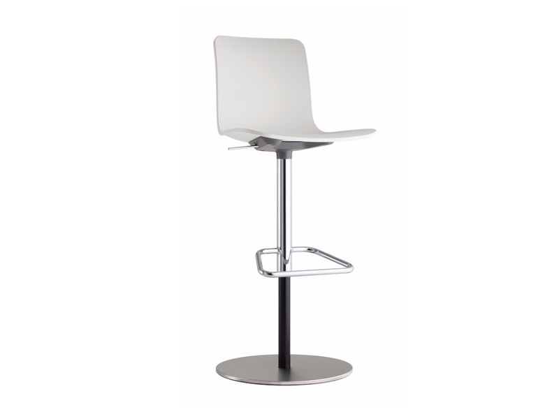 Swivel height-adjustable barstool HAL BARSTOOL by Vitra