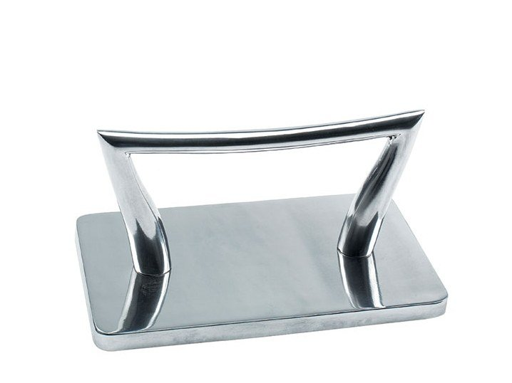 Aluminium footstool HAL by Maletti