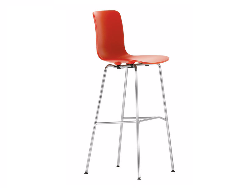 High polypropylene barstool HAL STOOL HIGH by Vitra
