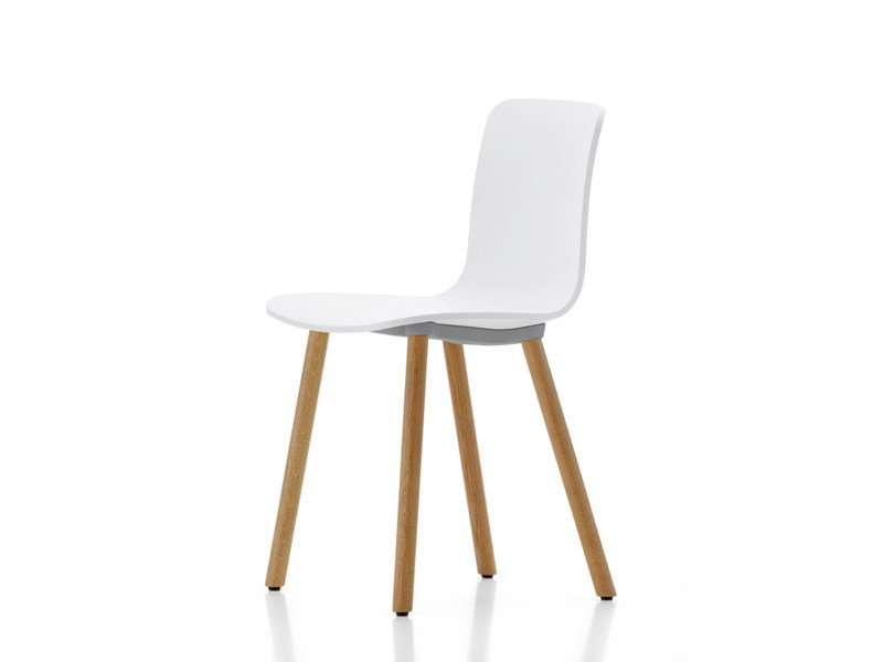 Wooden chair HAL WOOD by Vitra