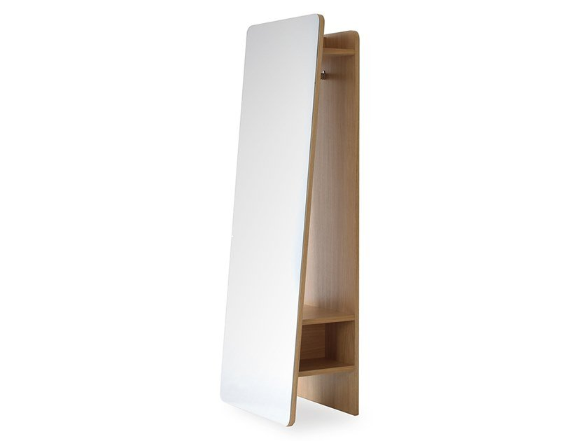 Mirror / coat rack PETRA | Coat rack by Heavens