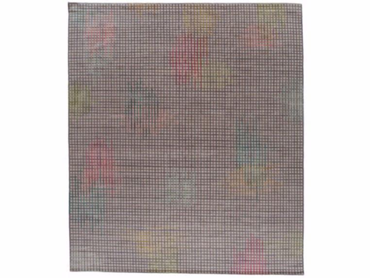 Handmade rectangular rug HALO LIGHT by Golran