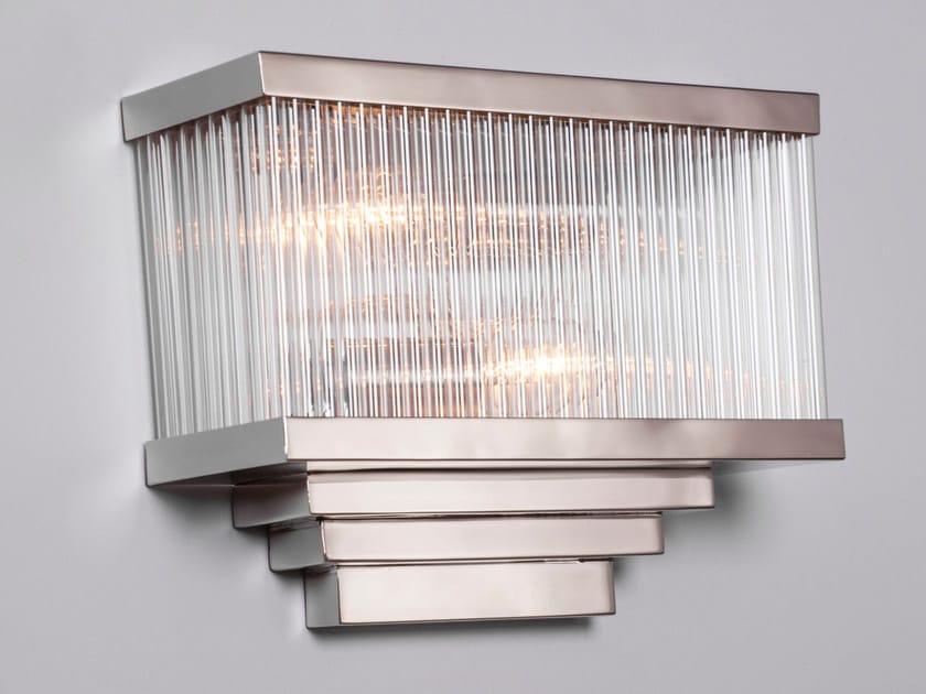 Nickel wall light HAMBURG I | Wall light by Patinas Lighting