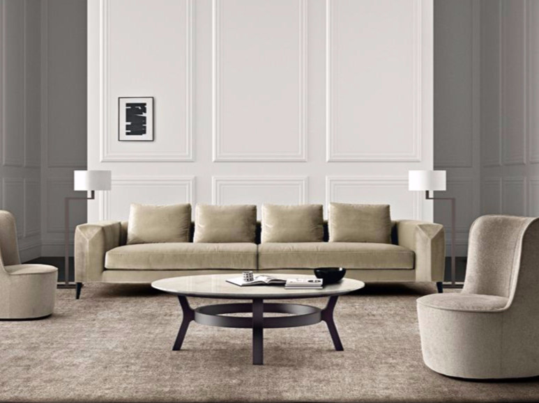 4 seater sofa with removable cover HAMPTONS | 4 seater sofa by Casamilano