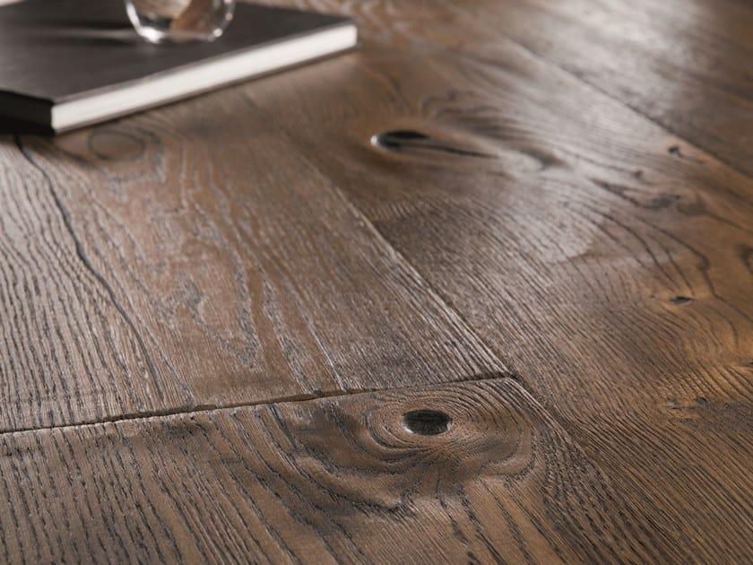 Oak parquet HANDCRAFTED OAK ANTIQUE BROWN by BOEN