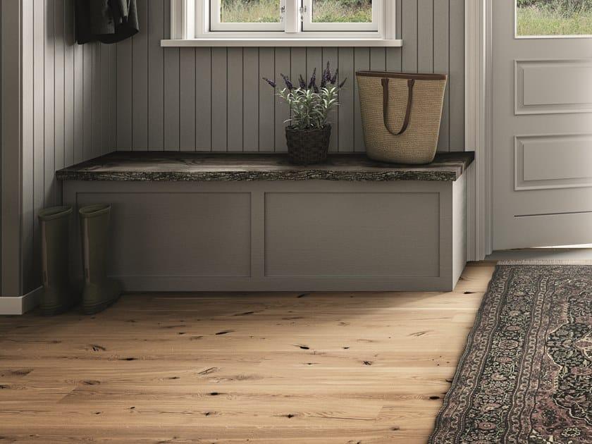 Oak parquet HANDCRAFTED OAK ESPRESSIVO by BOEN
