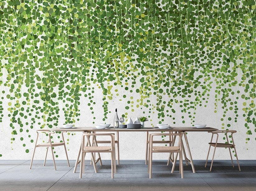 Washable Digital printing wallpaper HANGING GARDEN by Architects Paper